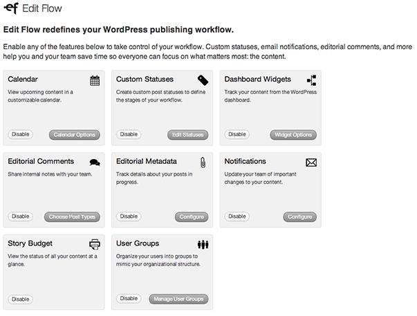 Edit Flow - функциональный плагин для координации работы нескольких авторов в блоге WordPress | n-wp.ru