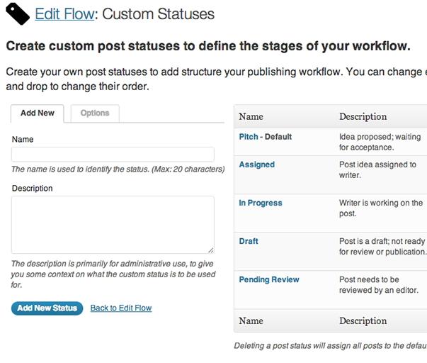 Edit Flow - функциональный плагин для координации работы нескольких авторов в блоге WordPress (4)