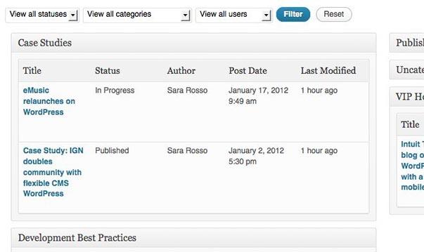 Edit Flow - функциональный плагин для координации работы нескольких авторов в блоге WordPress (2)
