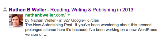Использование Google Authorship (5)