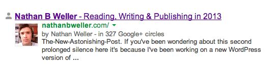 Использование Google Authorship (5)