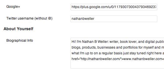 Использование Google Authorship (3)