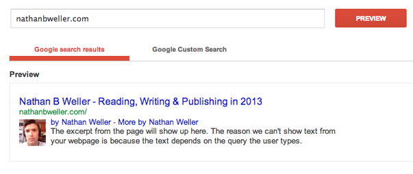 Использование Google Authorship (1)