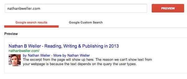 Использование Google Authorship (1)