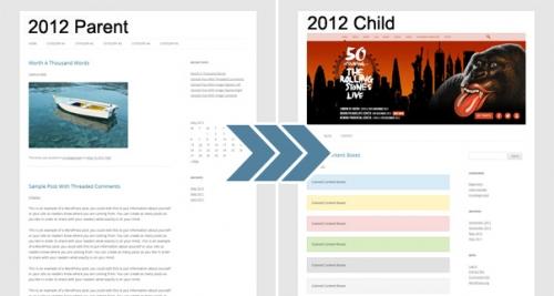 Использование дочерней темы в WordPress | n-wp.ru