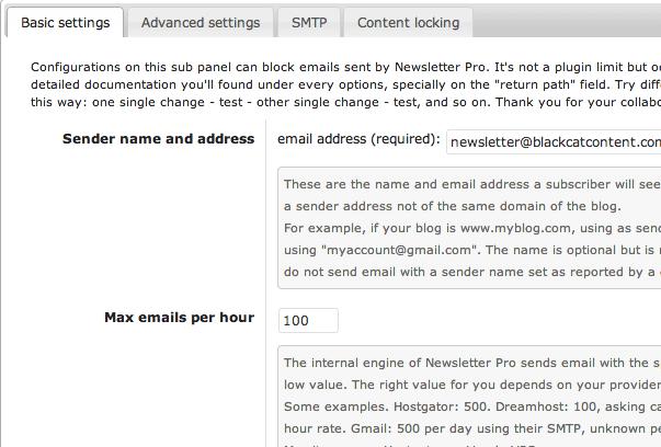 Newsletter - плагин для создания информационных рассылок