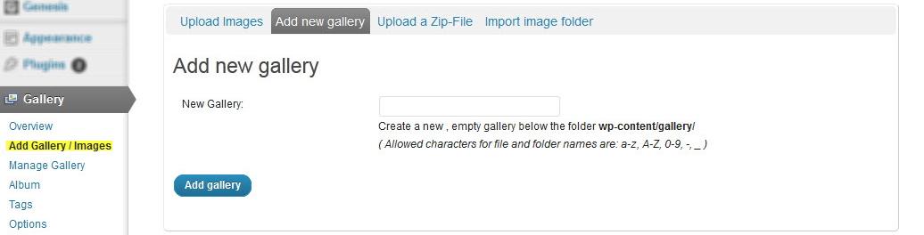 NextGen Gallery - функциональный плагин для создания галерей и альбомов (11)
