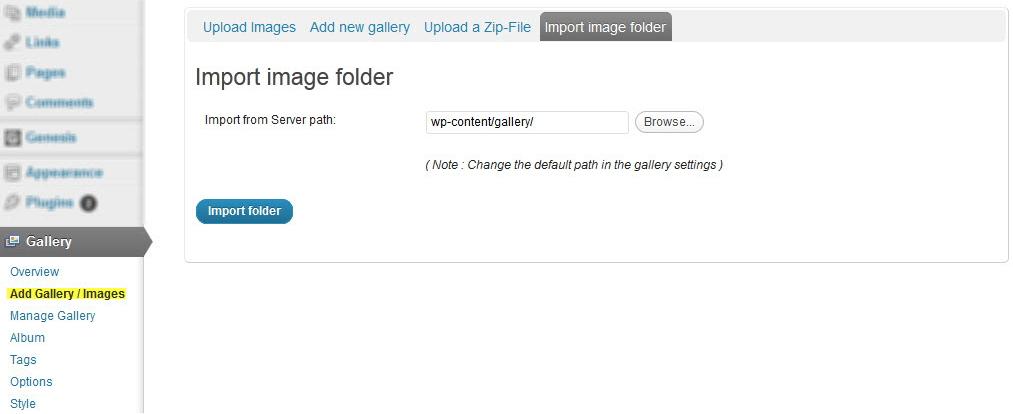 NextGen Gallery - функциональный плагин для создания галерей и альбомов (9)