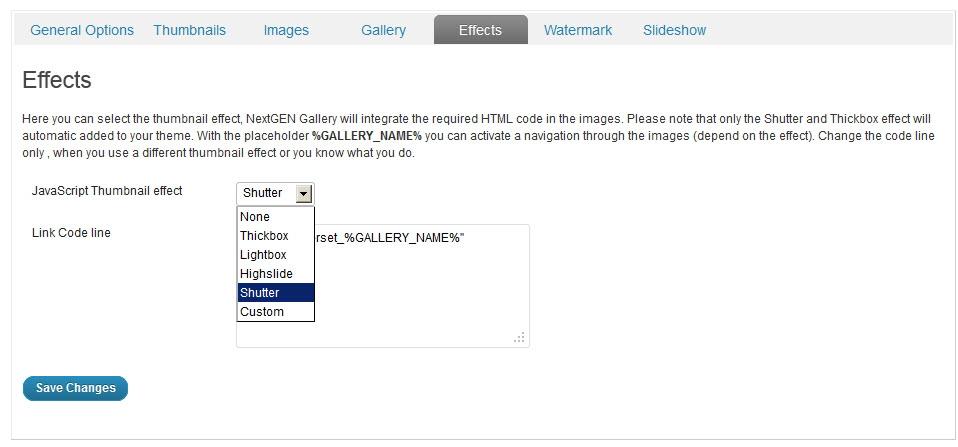 NextGen Gallery - функциональный плагин для создания галерей и альбомов (3)
