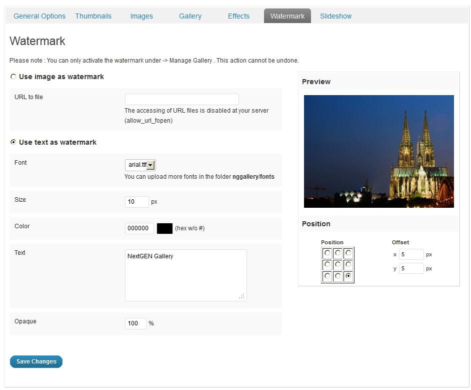 NextGen Gallery - функциональный плагин для создания галерей и альбомов (2)