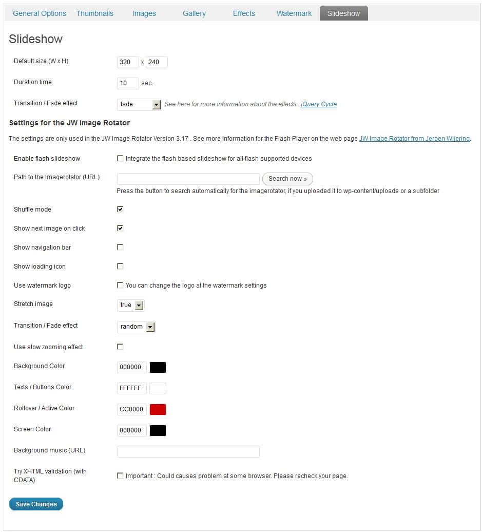 NextGen Gallery - функциональный плагин для создания галерей и альбомов (1)