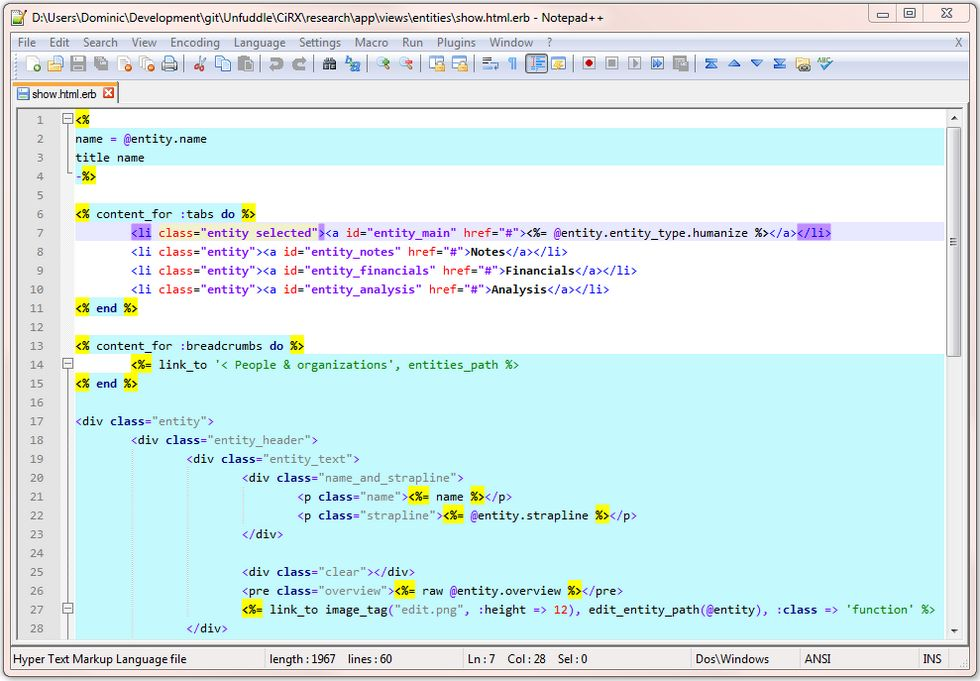Основы работы с WordPress: общая структура файлов темы и редакторы кода файлов