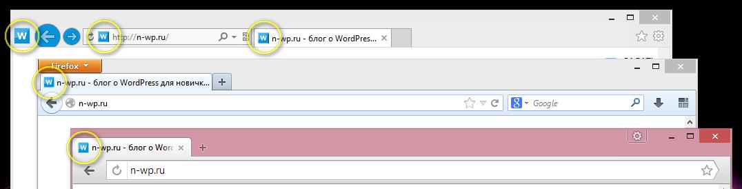 Использование Favicon в WordPress | n-wp.ru