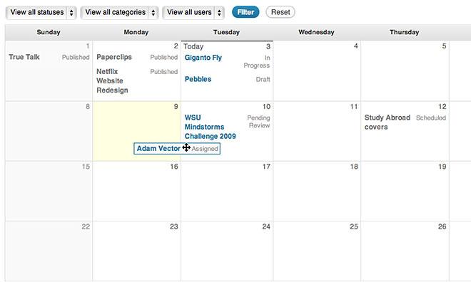 Плагины для организации работы нескольких авторов в блоге WordPress (3)
