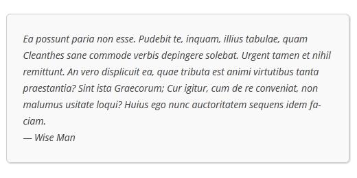 Как настроить стиль цитат в темах WordPress