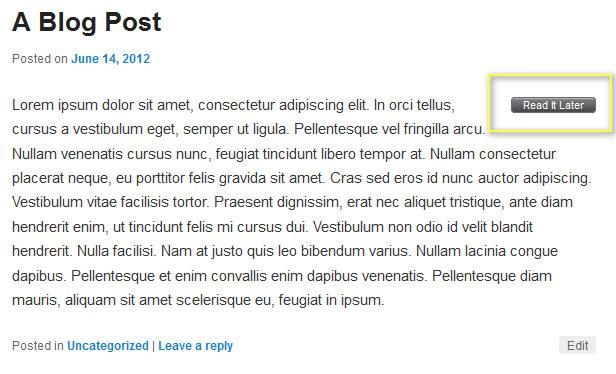 Используем онлайновый сервис Pocket для отложенного чтения постов блога (2)