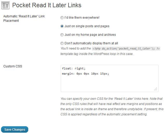 Используем онлайновый сервис Pocket для отложенного чтения постов блога (1)