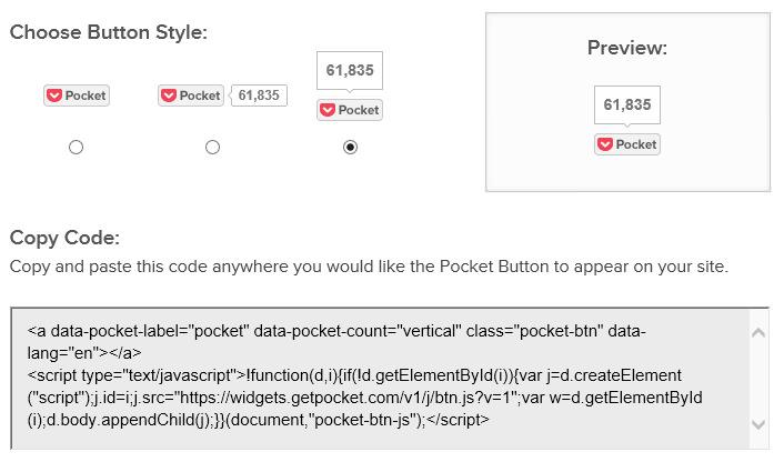 Используем онлайновый сервис Pocket для отложенного чтения постов блога (5)