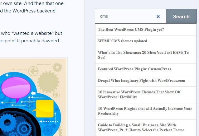 Несколько плагинов для улучшения поиска по блогу на WordPress