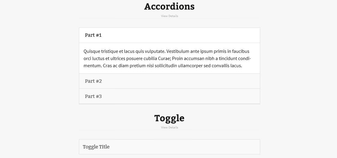 Light Shortcode - набор популярных шорткодов для оформления контента (5)
