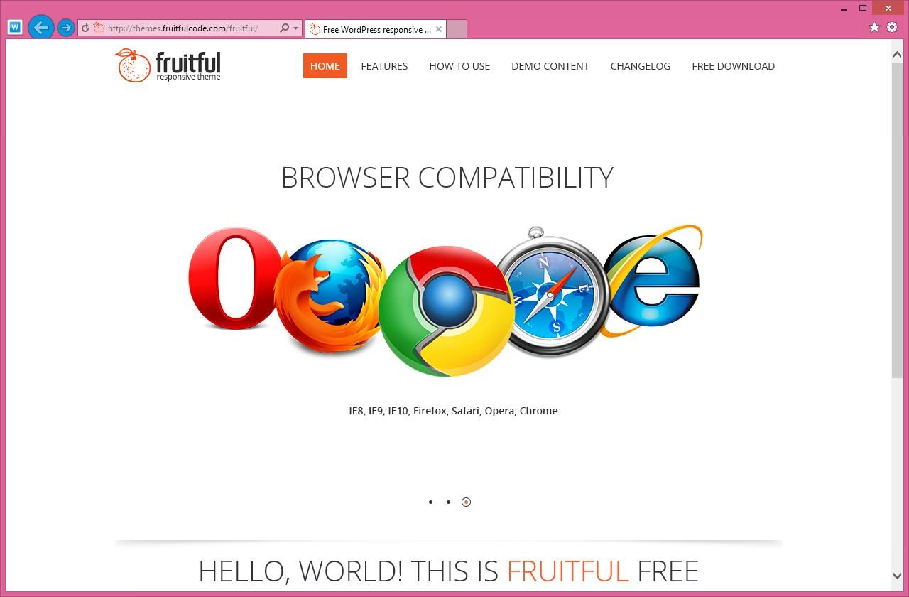 Fruitful - светлая тема со слайдером и адаптивным дизайном (7)