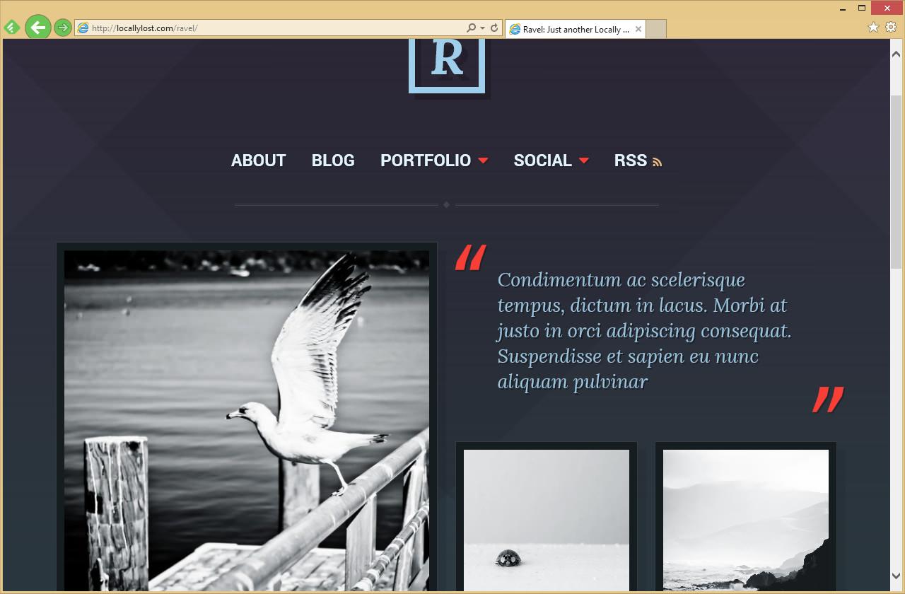 Ravel — современная тема со стильным дизайном   n-wp.ru