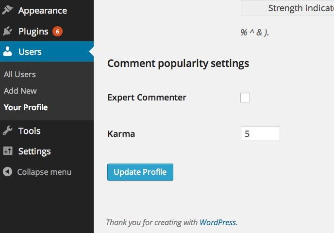 Comment Popularity — плагин популяризации комментариев