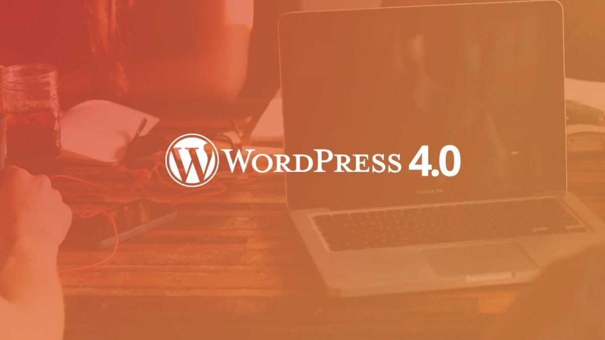 WordPress 4.0 «Benny» — основные изменения | n-wp.ru