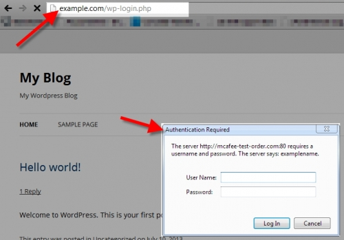 Как защитить папку админки с помощью дополнительного пароля | n-wp.ru