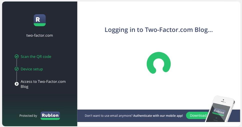 Rublon — сервис для создания двухфакторной авторизации с помощью мобильных устройств | n-wp.ru