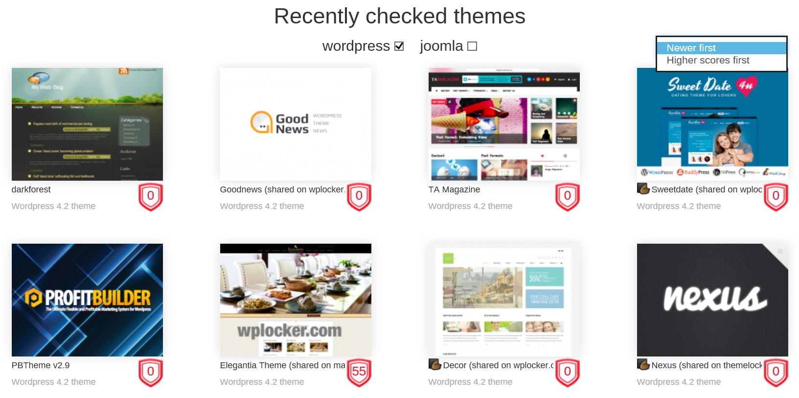 ThemeCheck.org -- сервис для проверки безопасности тем для WordPress | n-wp.ru