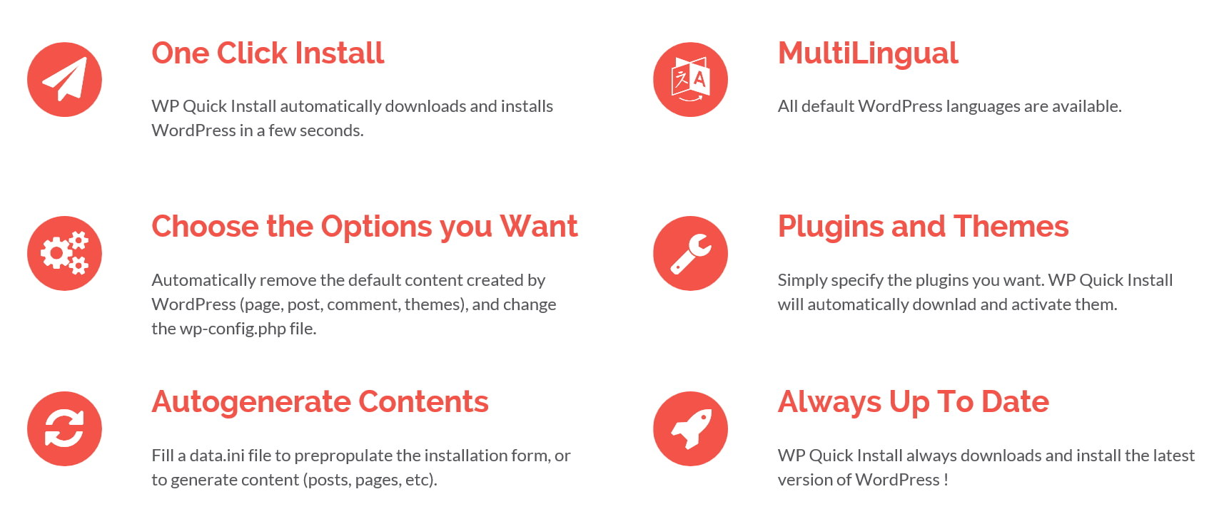 WP Quick Install -- скрипт для быстрой установки WordPress со своим набором плагинов и первоначальными настройками | n-wp.ru