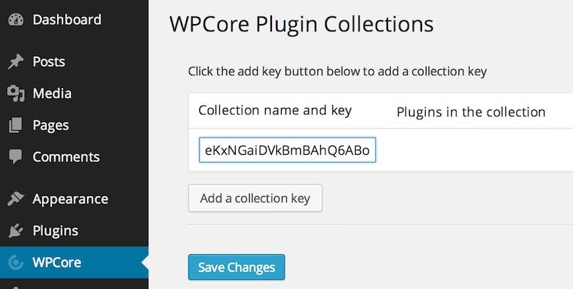 WPCore — сервис для пакетной установки плагинов