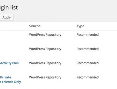 WPCore -- сервис для пакетной установки плагинов | n-wp.ru