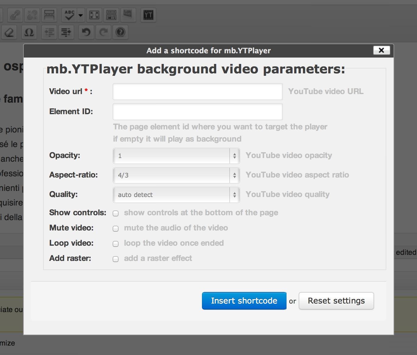 Два способа использовать видео из YouTube в качестве фона