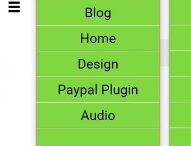 DC - Full Screen Responsive Menu -- плагин для организации адаптивного, полноэкранного меню | n-wp.ru