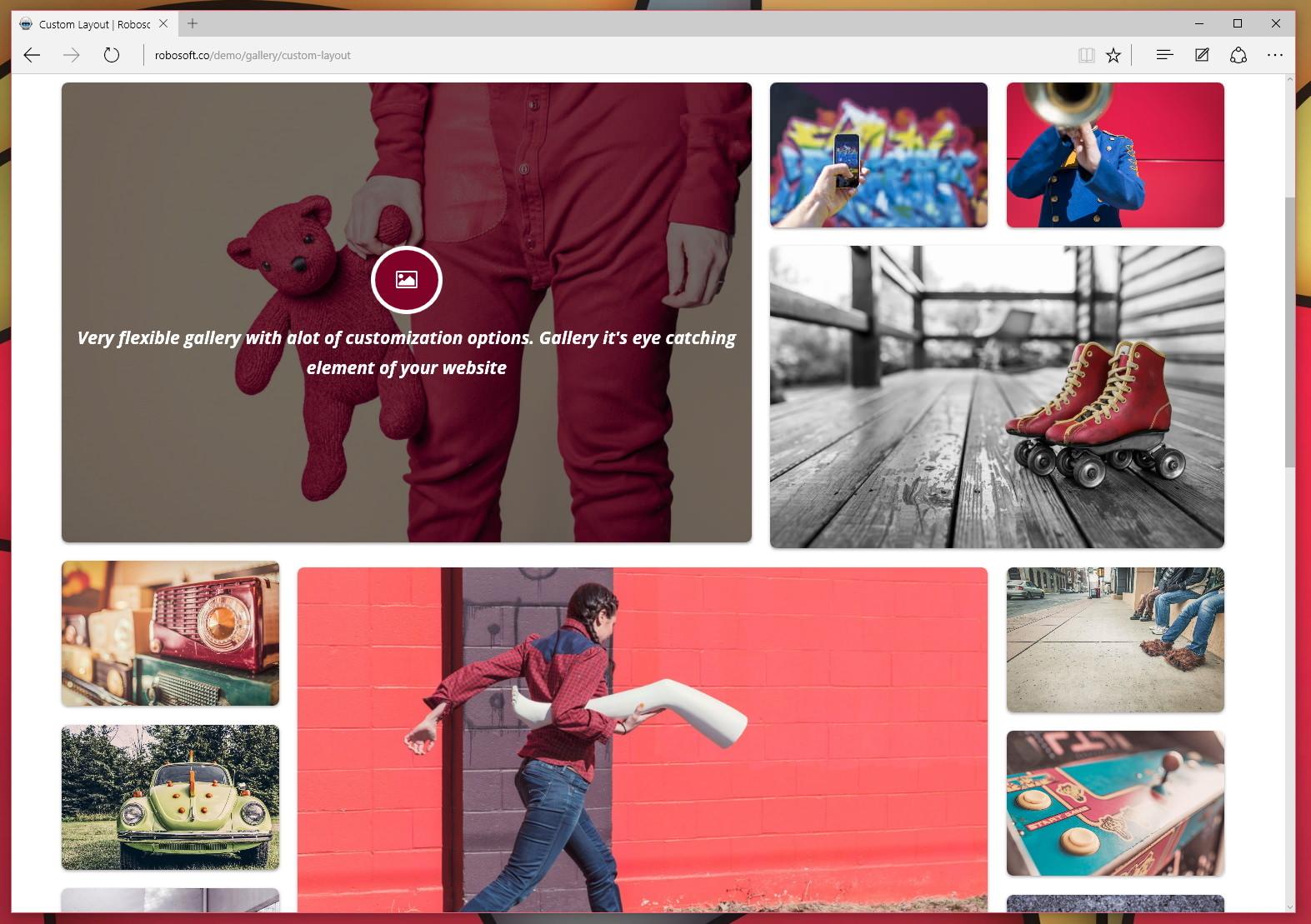 Robo Gallery — плагин для создания функциональной галереи изображений