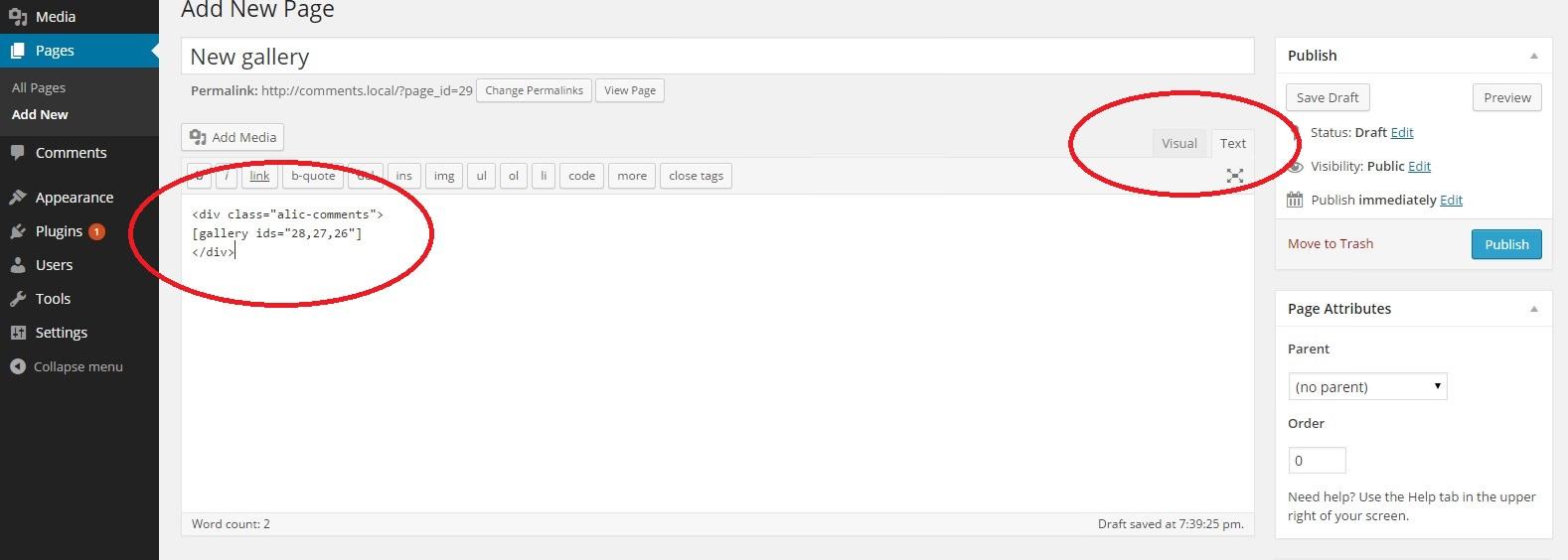 ALIC (Ajax Lightbox Image Comment) — плагин для показа и комментирования изображений