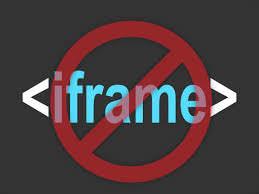Как запретить загрузку страниц своего сайта на другом сайте с помощью iframe | n-wp.ru