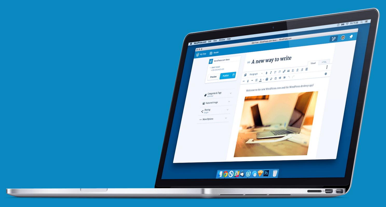 Десктопное приложение для работы с блогами WordPress.com