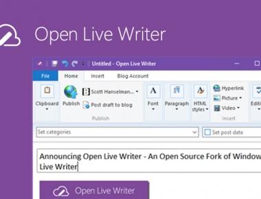 Open Live Writer — оффлайновый редактор постов с открытым кодом