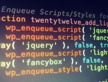 WP Enqueue — плагин для правильного подключения дополнительных скриптов и стилей