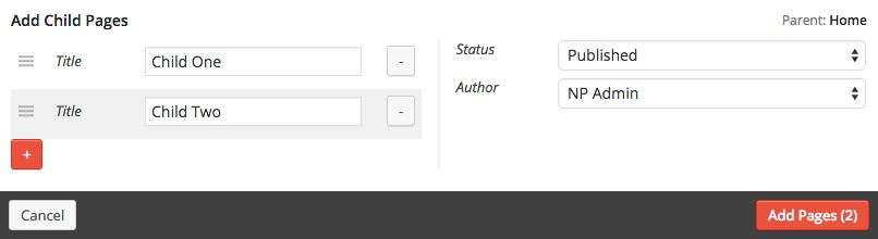 Nested Pages — удобный плагин для гибкого управления страницами