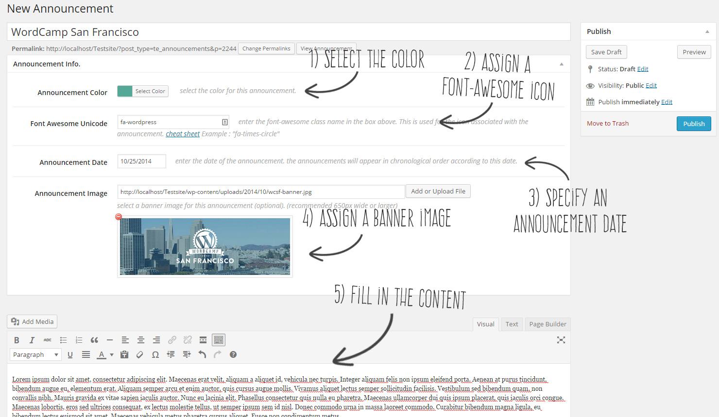 Timeline Express — плагин для создания ленты анонсов